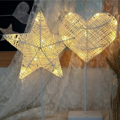 Cane Star/Loving Heart Girls Bedroom Decorative Night Light