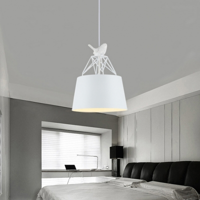 Christmas Style White 1-Light Ceiling Pendant Light for Indoor 2 Options Available