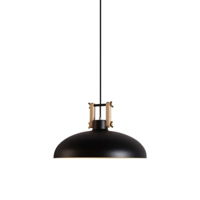 Metal Barn Shade Simple Style 1 Bulb Hanging Light Fixture Multiple Color for Options 15.35