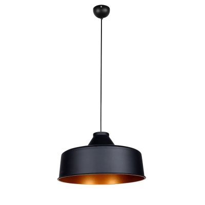Industrial Style Warehouse Pendant Light Fixture with Metal Barn Shade 16.1