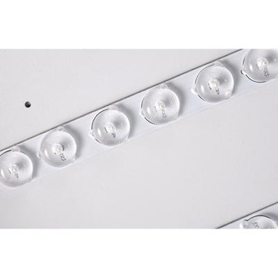 Macaron Modern Acrylic Round Flushmount Kids Bedroom LED Ceiling Light in Warm/White