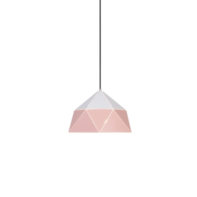 Bicolor Metal Shade Hanging Lighting Pendant Fixture in Modern Style Several Colors Available