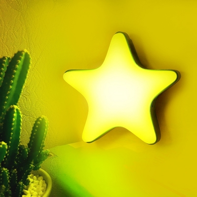 Easy Touch Star Warm Light Kids Night Light Portable USB Rechargeable