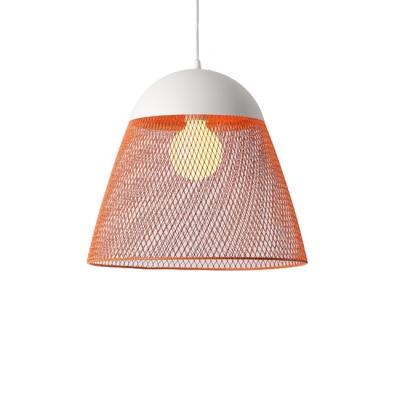 Orange/Green/Blue Wire Guard One Bulb Study Room Lighting 11.81