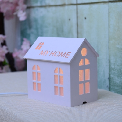 Button Switch /Remote Control House Shade Kids Room Led Nightlight    Beautifulhalo.com