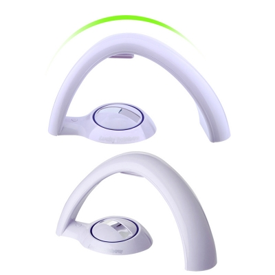 Plastic White Rainbow Lamp Night Stand Light for Girls Bedroom