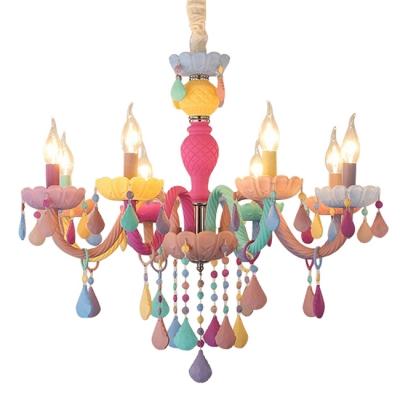 Modern Chandelier Lighting Crystal Ceiling Light Candle Small Chandelier Kid Chandelier