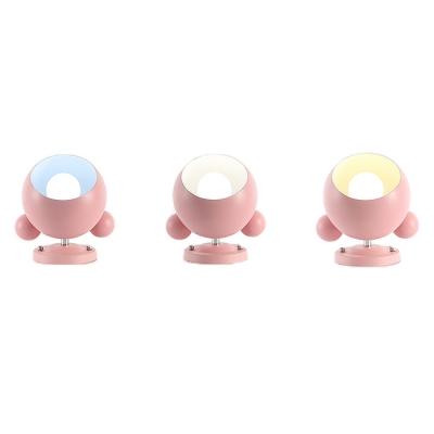 Rotatable Bear Shape Semi Flush Mount Modern Design Colorful Metal 1 Bulb Ceiling Fixture
