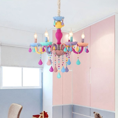 Fashion style chandeliers kids lighting beautifulhalo modern chandelier lighting crystal ceiling light candle small chandelier kid chandelier aloadofball Images