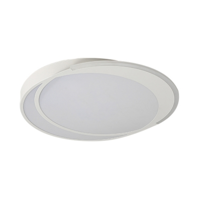 Creative Round Shape LED Mounted Ceiling Light for Bedroom/Living Room