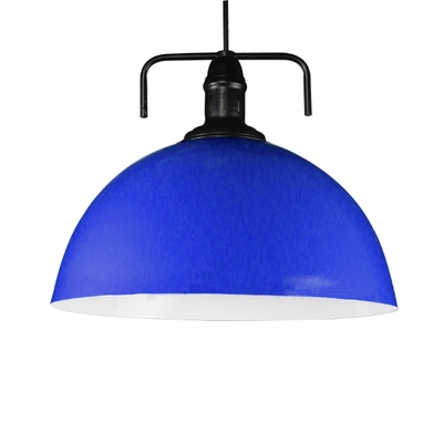Contemporary Multicolor Single Head Pendant Light with Dome Shade 8 Colors for Choice