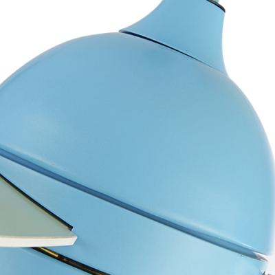 Kids Room LED Macaroon Style 3 Blade 16.54 Inch Blue Kids Ceiling Fan in Blue/Pink