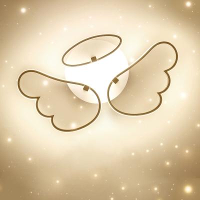 Lovely Angle Wings Kids Bedroom LED Ceiling Lights