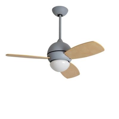 Nordic Style 13.39 Inch Ceiling Fan Downrod in Grey/Black/White Macaroon Kids Bedroom Ceiling Fan