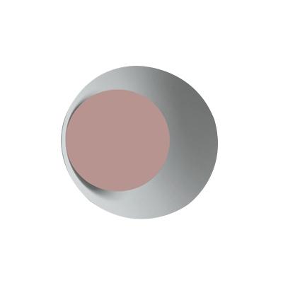 Flared 1 Light Wall Sconce Post Modern Black/Grey/Pink/Yellow/White Metallic Wall Mount Light