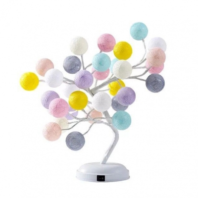 Romantic Starry Tree Girls Bedroom Decorative Night Light USB/Battery Operated