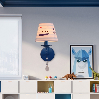 Modern 1 Light Crystal Decoration Wall Sconce for Bedroom Living ...