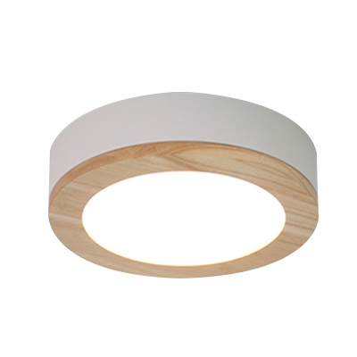 Acrylic Round LED Ceiling Fixture Simple Contemporary Kitchen Porch Flush Mount Lighting