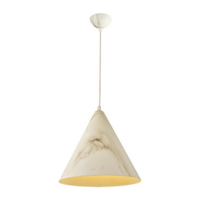 Rustic Style Single Light Adjustable Ceiling Pendant in Ivory/Coffe/Brown/Teak Wood Finish
