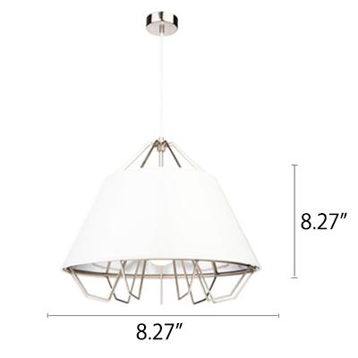 Wire Frame Modern Style Mini Single Head Pendant Light for Coffee House 8.3