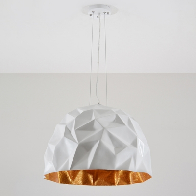 Angular Design One Light Hanging Pendant in Modern Style for Dining Hall