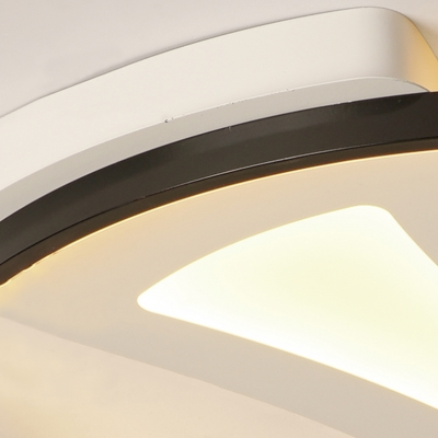 Hollow out Simple Style Round LED Ceiling Light