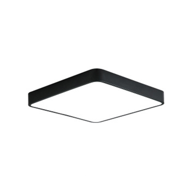 Ultra Thin Square Ceiling Lamp Simplicity Kids Room Colorful Acrylic Flush Mount Lighting