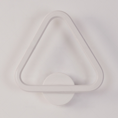 Modern Simple Style Triangle/Heart Shape LED Wall Sconce Light for Bedroom Living Room