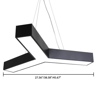 Modern Simple Style Led Ceiling Lights 27.56