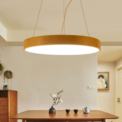 pretty nice a41a0 16126 Contemporary Led Chandelier Wood Globe Lighting 20W-36W,