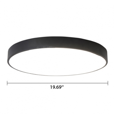 Contemporary Acrylic Lampshade Ultra-thin Flush Mount Kitchen Lighting Led Circle Ceiling Lights Round Surface Mount Leds 10W-42W Lighting for Bedroom Office Hallway Different Size Available