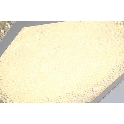 Crystal Shade LED Light Flush Mount Ceiling Light for Living Room Dining Room 15.75