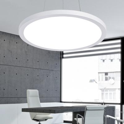 Modern Chandelier LED Round Pendant Lighting 24W/36W 3500-6500K White