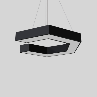 Contemporary Led Pendant Ceiling Lights 23.62