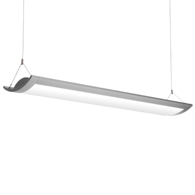 Modern Minimalist Lighting Ultra-thin Acrylic Led Linear Light Glare-free Illumination 36W, 2870LM, Neutral/White Light 4000K/6500K Decorative Island Pendant Suitable for Office Reception Room Kitchen Dining Room