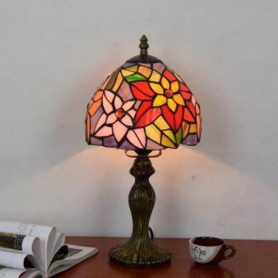 Tiffany Flower Series Table Lamp, 8
