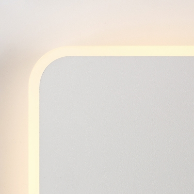 Nordic Simple Style Adjustable Wall Sconce Light in White/Wooden Finish for Bedroom