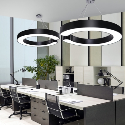 Modern Simple Style Led Pendant Ceiling Lights 15.75