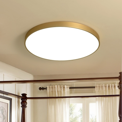 separation shoes 8ca84 a004a Ultra-Modern Style Polished Brass Led Ceiling Lights 31-40W Bright