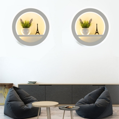 LED Light Wall Sconce Bed Light for Bedroom Three Designs for Option