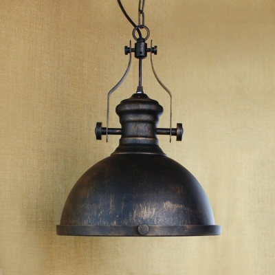 13'' Wide Single Light Industrial Indoor LED Hanging Lamp for Barn