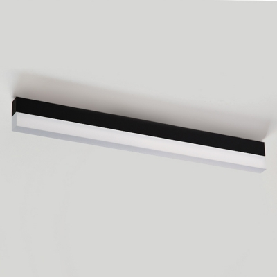 Modern Minimalist Lighting Slim Linear Led Ceiling Lamp Acrylic  Glare-free Illumination 36W, Decorative Led Office Meeting Room Dining Room Kitchen Flush Mount Lights