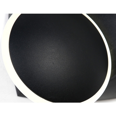 Dimmable Post Modern Eclipse Sconce 5.51