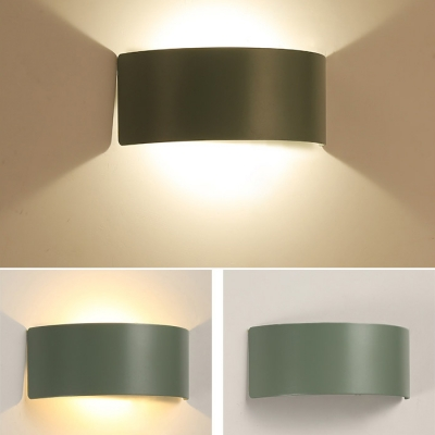 Macaroon Nordic Style Multi colors Arch Led Wall Light 8.67