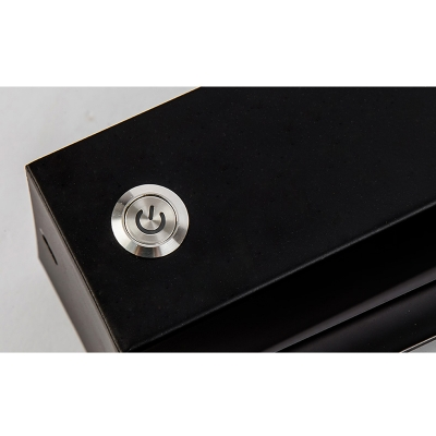 Adjustable Light Black/White Metal Led Linear Wall Lighting 8W High Bright 7.87