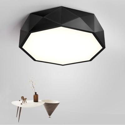 Modern Decorative Led Flush Mount Geometric Down Lighting Ceiling