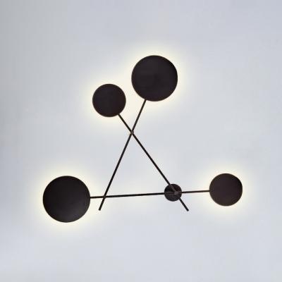Minimalist Designers Lights 4-Led Black Finish 39.37
