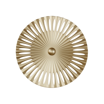 Post Modern Designers Lighting Round Metal Led Wall Light 16W-20W Indoor Decorative Gold Wall Sconce Lighting for Living Room Restaurant Dining Room