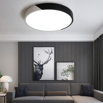 Low Profile Lighting Post Modern Design Led Black Ultra Thin
