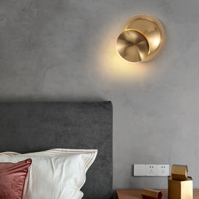 5W LED Warm Light Ambient Wall Sconce Post Modern Style 5.51